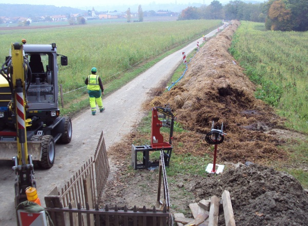 Baustelle total 540 m Länge© TERRA AG, Reiden, Switzerland