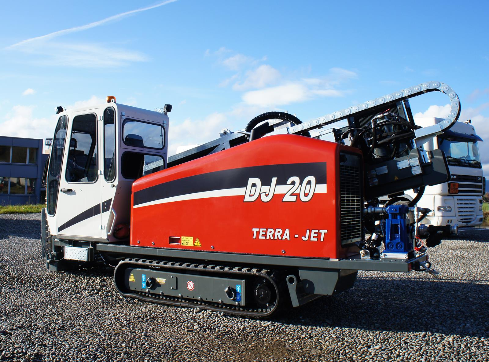 One of the most productive 9 tonnes HDD drill rigs in its class - the DJ 20