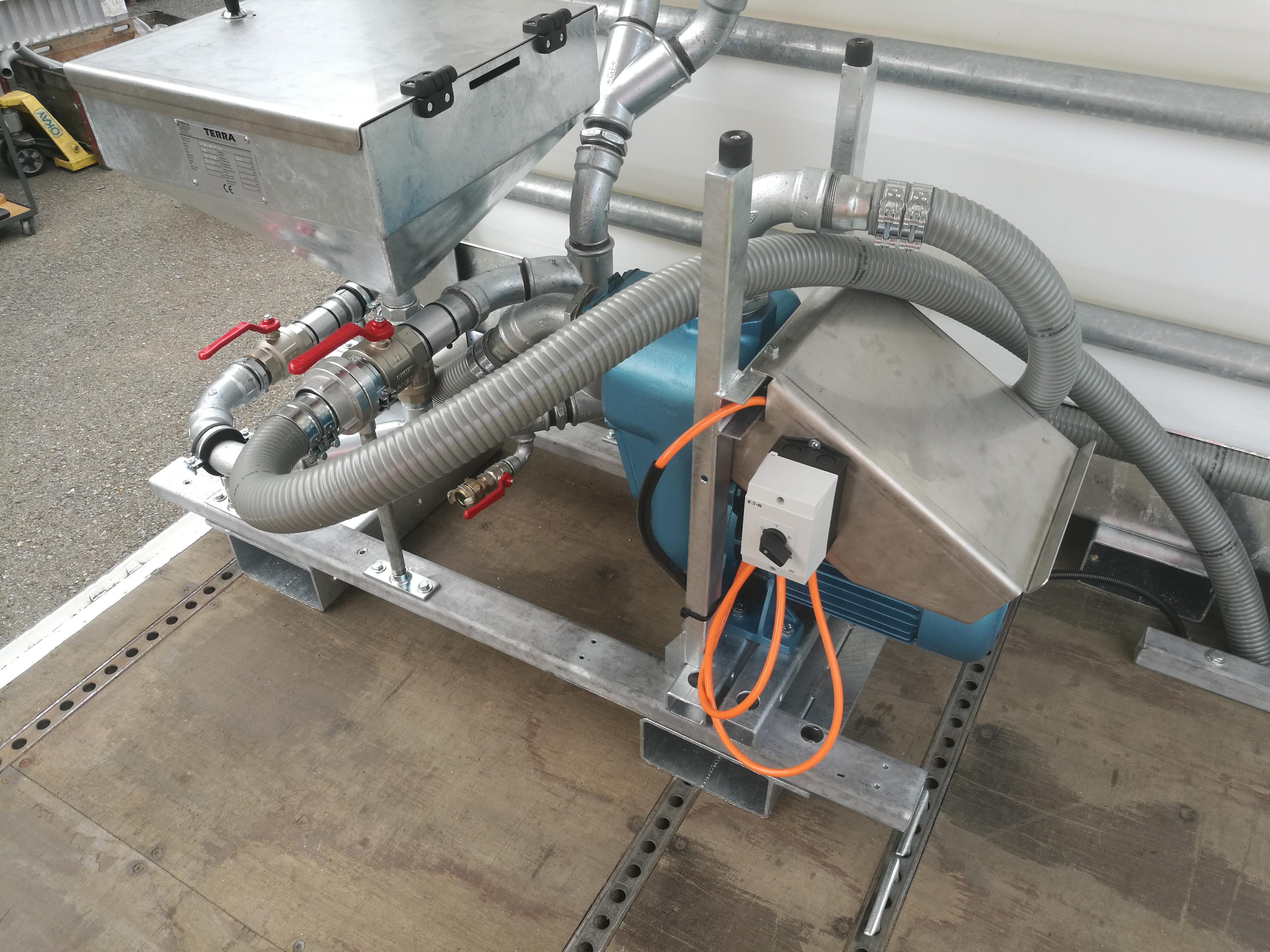 Electrical driven pump