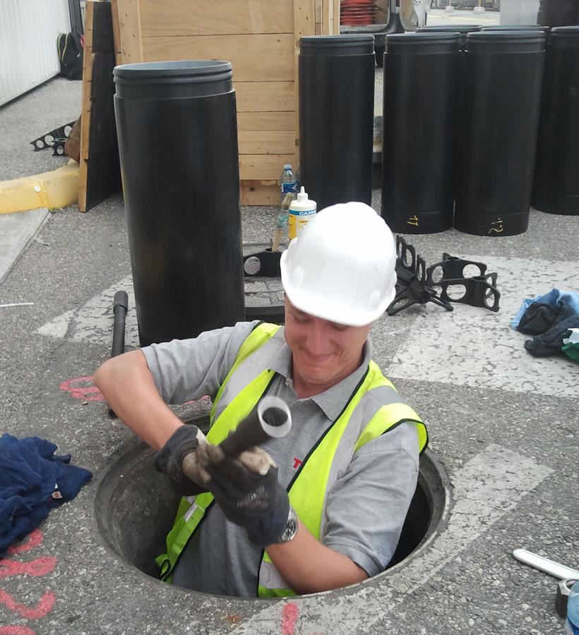 Manhole-to-manhole operations